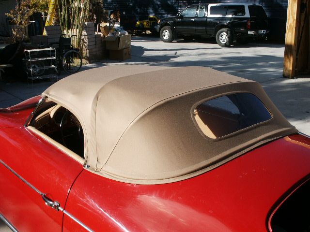 356 Speedster Top Frames 356 Porsche West