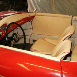 another angle interior with Cream Leather
