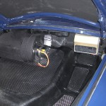 evaporator unit in trunk for A C